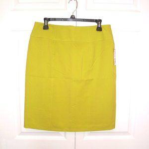 2 Worthington Size 12 Skirts, Brite Green & White